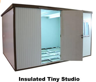 Insulated Tiny Studio