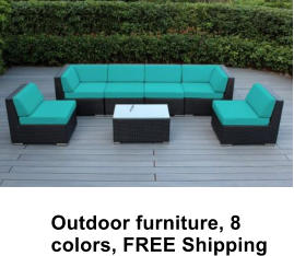 Outdoor furniture, 8 colors, FREE Shipping