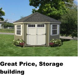 Great Price, Storage building