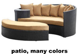 patio, many colors