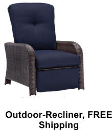 Outdoor-Recliner, FREE Shipping