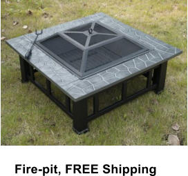 Fire-pit, FREE Shipping