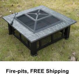Fire-pits, FREE Shipping